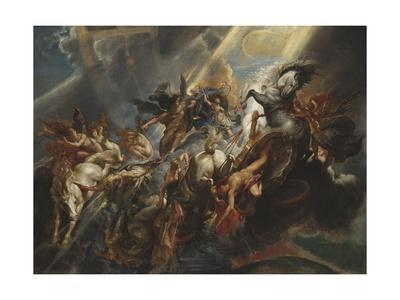 The Fall of Phaeton, 1605-06
