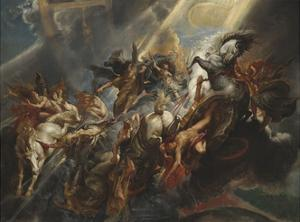 The Fall of Phaeton, 1605-06 by Peter Paul Rubens