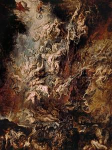 The Fall of the Damned by Peter Paul Rubens