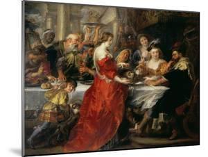 The Feast of Herod, 1633 or C.1637-38 by Peter Paul Rubens