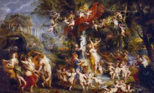 The Feast of Venus, after 1635 by Peter Paul Rubens