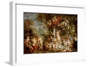 The Feast of Venus (The Festival of Venus Verticordi), 1636-1637 by Peter Paul Rubens