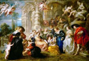 The Garden of Love, 1633-1634 by Peter Paul Rubens