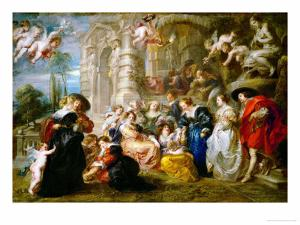 The Garden of Love, 1633-1634 by Peter Paul Rubens