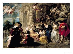 The Garden of Love, circa 1630-32 by Peter Paul Rubens