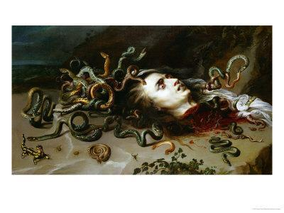 The Head of Medusa, circa 1618