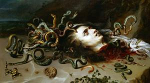 The Head of Medusa, circa 1618 by Peter Paul Rubens