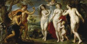 The Judgement of Paris, 1638/39 by Peter Paul Rubens