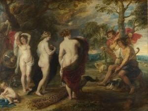The Judgement of Paris, C. 1635 by Peter Paul Rubens