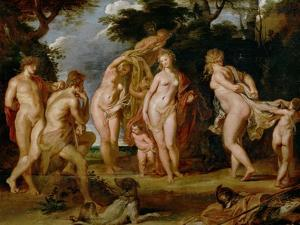 The Judgement of Paris by Peter Paul Rubens