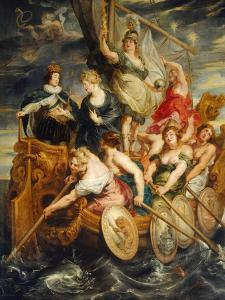 The Majority of Louis XIII by Peter Paul Rubens