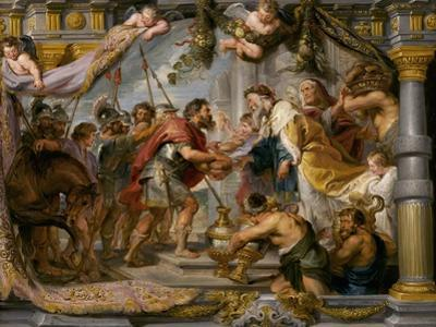 The Meeting of Abraham and Melchizedek, c.1626