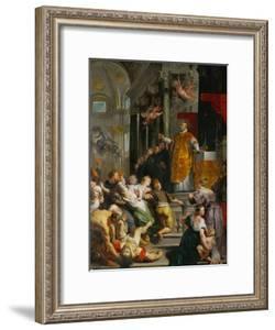 The Miracle of Saint Ignatius Loyola by Peter Paul Rubens