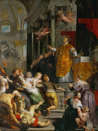 The Miracle of Saint Ignatius Loyola