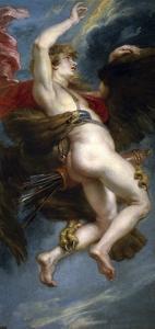 The Rape of Ganymede, 1636-1637 by Peter Paul Rubens