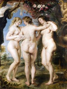 The Three Graces, C. 1635 by Peter Paul Rubens