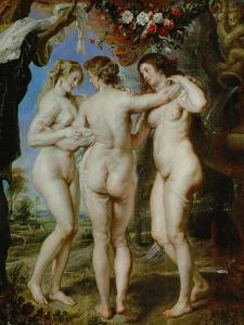 The Three Graces, circa 1636 by Peter Paul Rubens