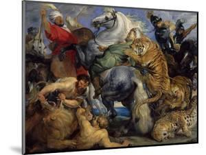 The Tiger Hunt, 1616 by Peter Paul Rubens