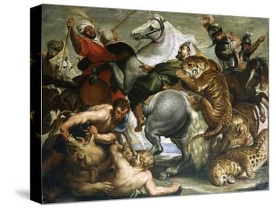 Tiger, Lion and Leopard Hunt, 1616