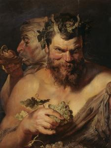 Two Satyrs, about 1615 by Peter Paul Rubens