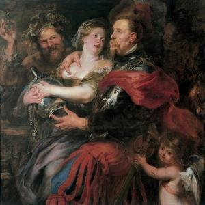 Venus and Mars, 1632-1636 by Peter Paul Rubens