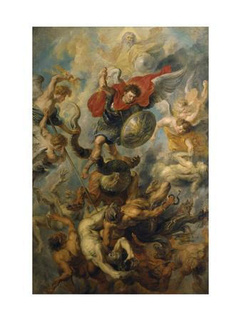 War in Heaven. Archangel Michael in the Fight Against Schismatic Angels