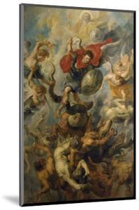 War in Heaven. Archangel Michael in the Fight Against Schismatic Angels by Peter Paul Rubens