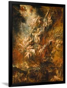 War in Heaven by Peter Paul Rubens
