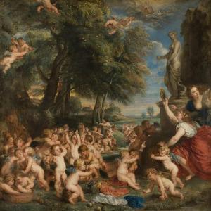 Worship of Venus, C.1635 by Peter Paul Rubens