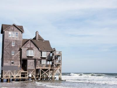 "House Used in the Movie ""Nights in Rodanthe"""