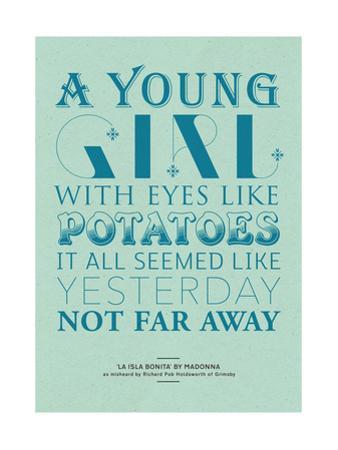 Eyes Like Potatoes