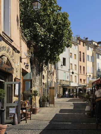 Al Fresco Restaurants, Place Forum Des Cardeurs, Aix-En-Provence, Bouches-Du-Rhone, Provence, Franc by Peter Richardson