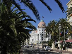 Hotels Lining Promenade Des Anglais, Nice, Alpes Maritimes, Provence, Cote D'Azur, French Riviera,  by Peter Richardson