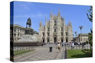 Milan Cathedral (Duomo), Piazza Del Duomo, Milan, Lombardy, Italy, Europe