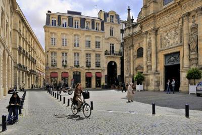 Notre Dame Church (Eglise Notre Dame), Bordeaux, UNESCO Site, Gironde, Aquitaine, France