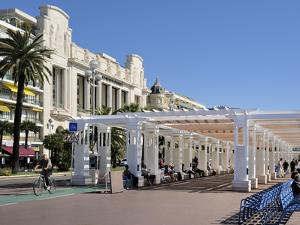 Promenade Des Anglais, Nice, Alpes Maritimes, Provence, Cote D'Azur, French Riviera, France, Europe by Peter Richardson