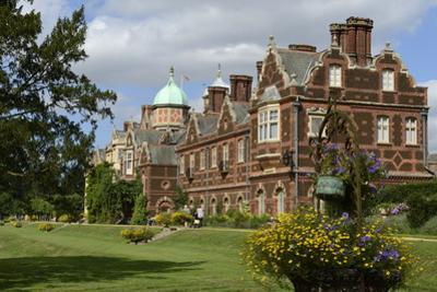 Sandringham House, Sandringham Estate, Norfolk, England, United Kingdom, Europe