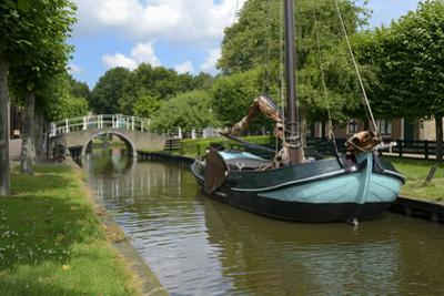 Traditional Sailing Boat, Zuiderzee Open Air Museum, Lake Ijssel