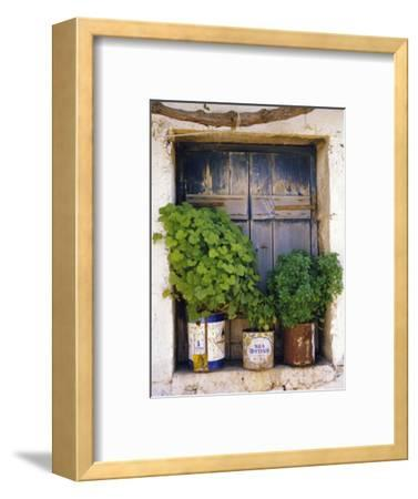 Windowsill, Paleohora, Crete, Greece