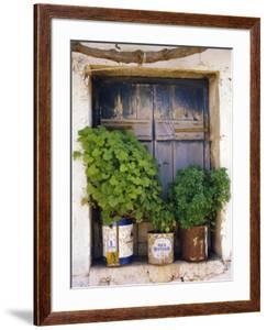 Windowsill, Paleohora, Crete, Greece by Peter Ryan
