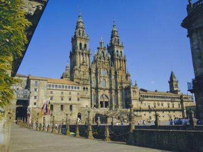 Cathedral, Santiago De Compostela, Galicia, Spain, Europe by Peter Scholey