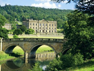 Chatsworth House, Derbyshire, England, UK by Peter Scholey