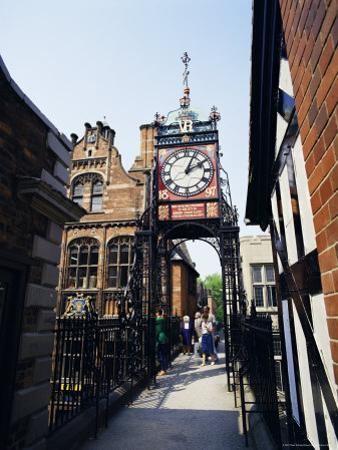 Eastgate Clock, Chester, Cheshire, England, United Kingdom by Peter Scholey