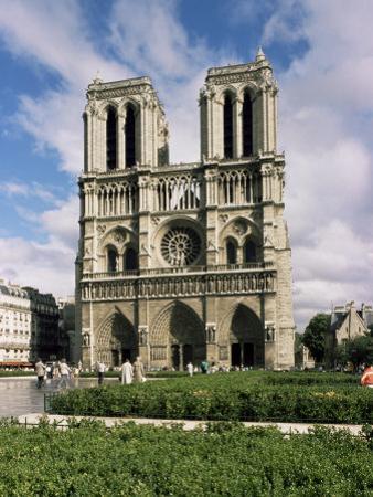 Notre Dame De Paris, Ile De La Cite, Paris, France by Peter Scholey