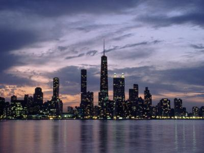 Chicago Skyline and Lake, IL