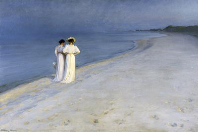 Summer Evening on Skagen's Southern Beach – 1893