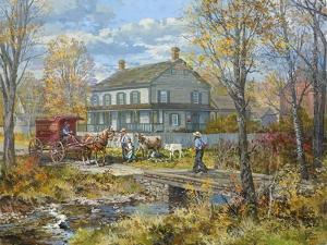 Autumn at the Schneider House by Peter Snyder