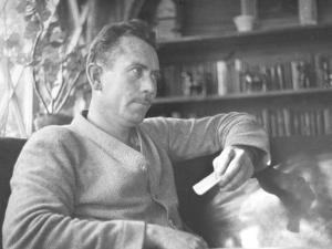 Author John Steinbeck by Peter Stackpole