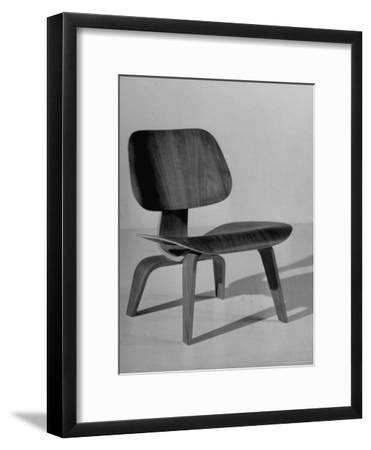 Chair Designed by Charles Eames Made of Plywood