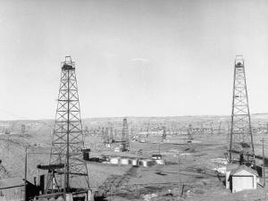 Salt Creek Field, North of Casper and Close to Historic Teapot Dome Naval Oil Reserve by Peter Stackpole